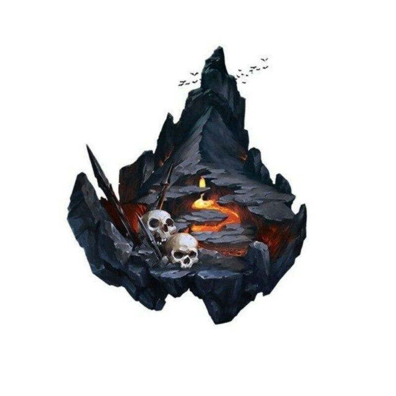 Mountain Skull Transfer