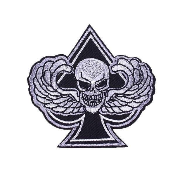 Ace of Spades Skull Patch