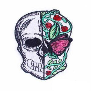 Half Skull Patch