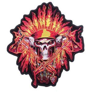 Burning Skull Patch