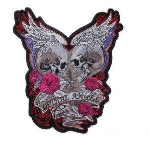 Angel Skull Patch