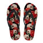 Women's Skull Flip Flop