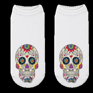 Mexican Skull Sock Calavera