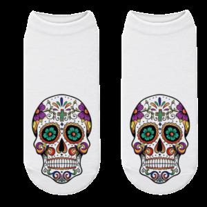 Mexican Skull Sock Colors