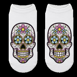 Mexican Skull Sock