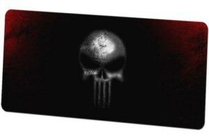 Death's Head Mouse Pad Anarchy