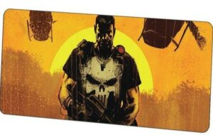 Death's Head Warrior Mouse Pad