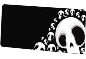 Dead Man's Head Mouse Pad
