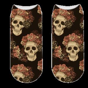 Gothic Skull Sock
