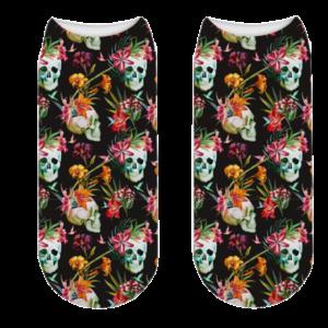 Sock Flowered Skull