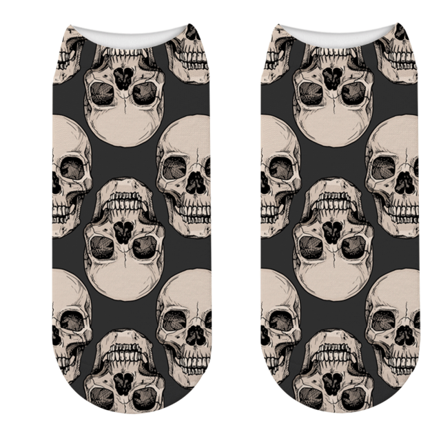 Sock Skull & Crossbones