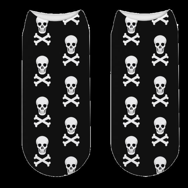 Pirate Skull Sock