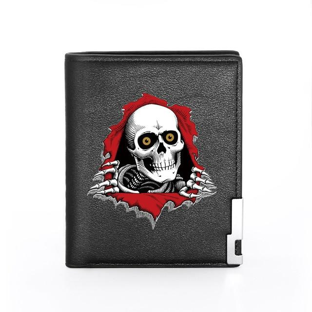 Black Skeleton Wallet