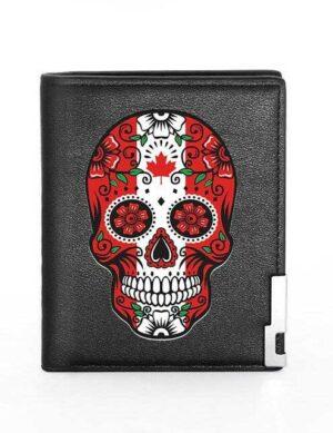 Mexican Skull Wallet