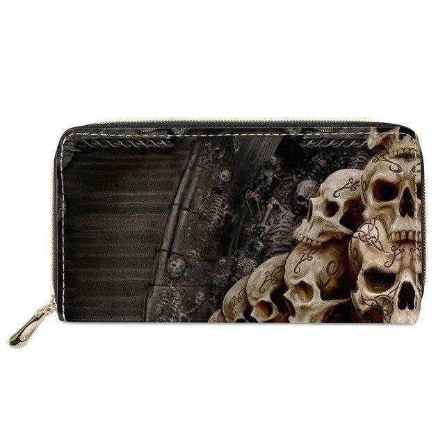 Viking Skull Wallet