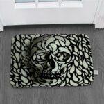Hypnosis design carpet.