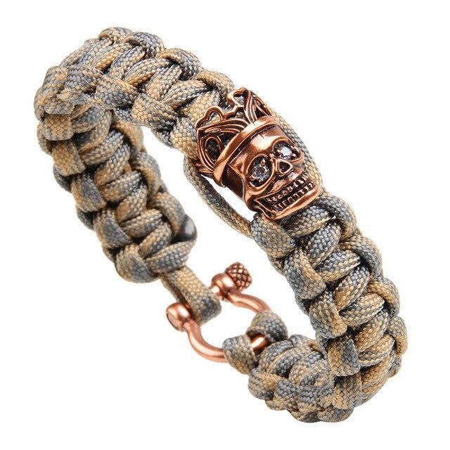 bracelet king skull
