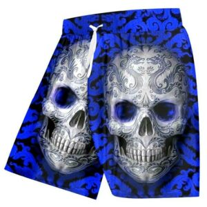 Colorful Mexican Skull Short