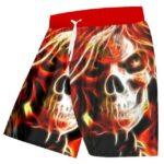 Fire Skull Shorts