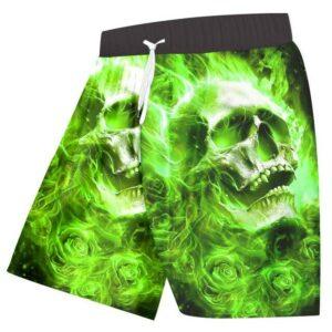 Green Skull Short