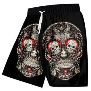 Mexican Skull Short