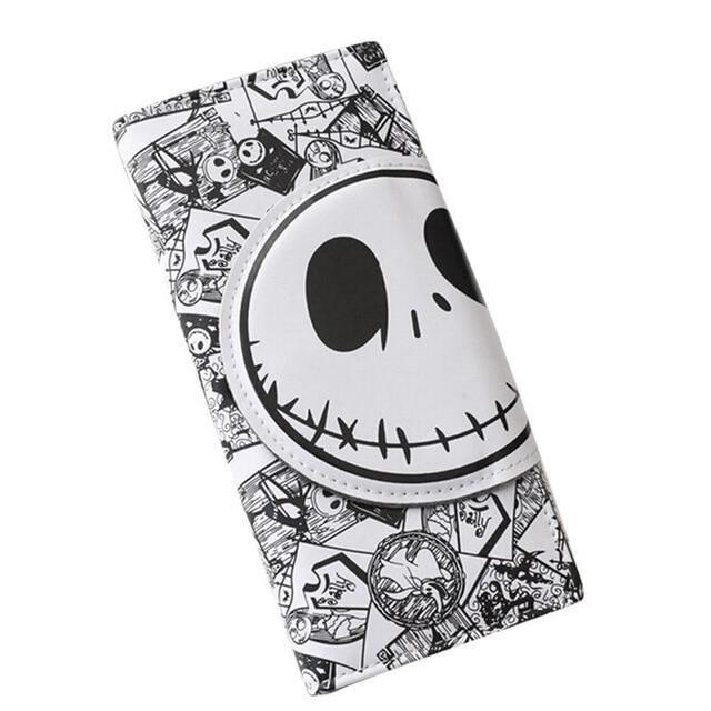 Black and White Skull Wallet