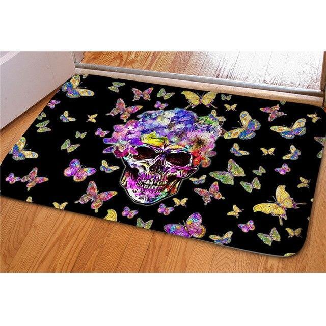 Butterfly carpet.