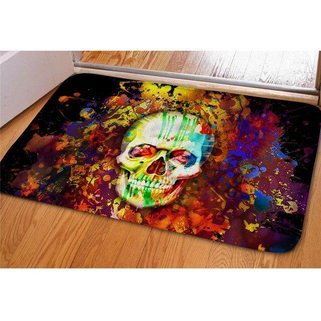 colored carpet.