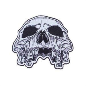 Satanic Skull Patch