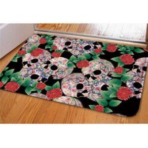 multicolored carpet.