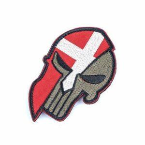 Denmark Skull Patch