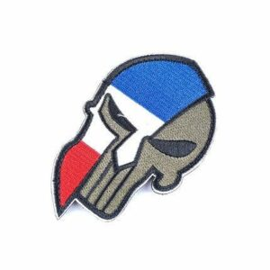 French Skull Patch