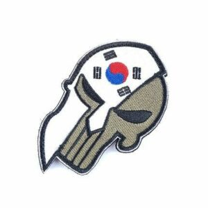 Korea Flag Patch