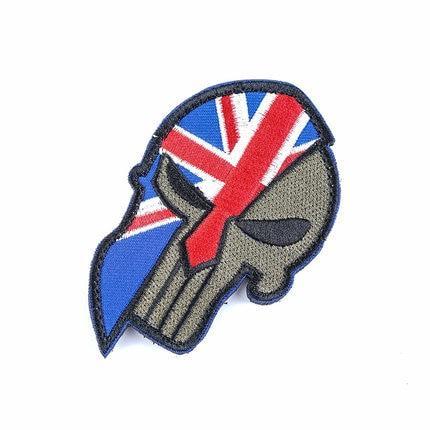 English Skull Patch