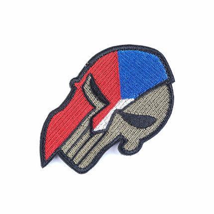 Czech Republic Skull Patch