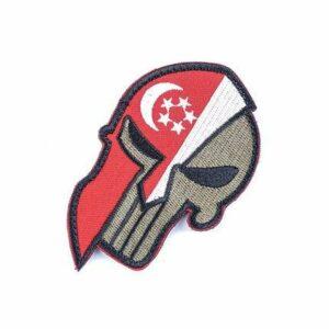 Singapore Flag Patch