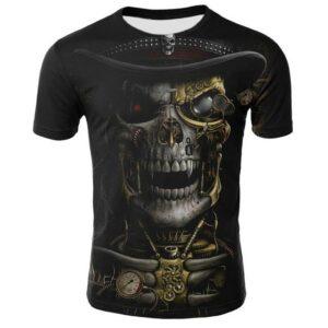 t-shirt skull terminator
