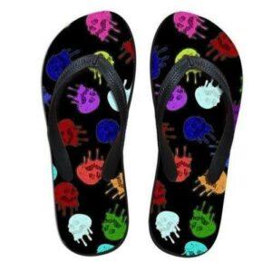 Colored Skull Tong