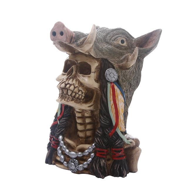 Boar Skull Decoration