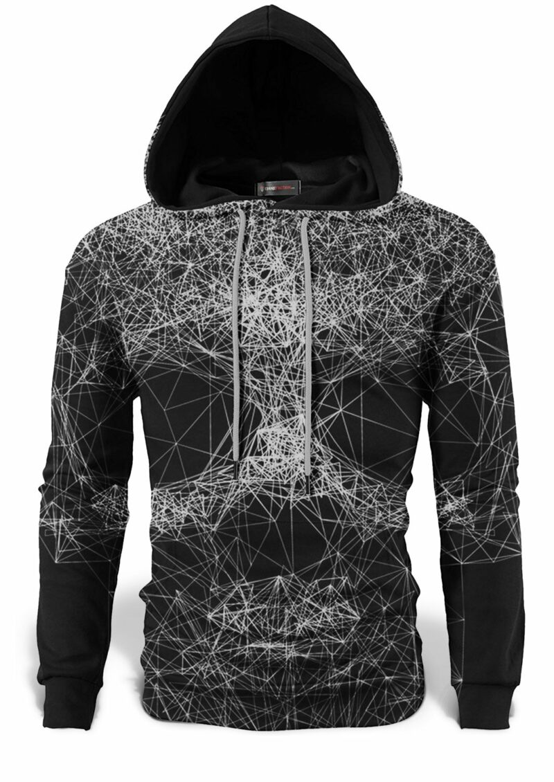 Black and White Skull Sweatshirt