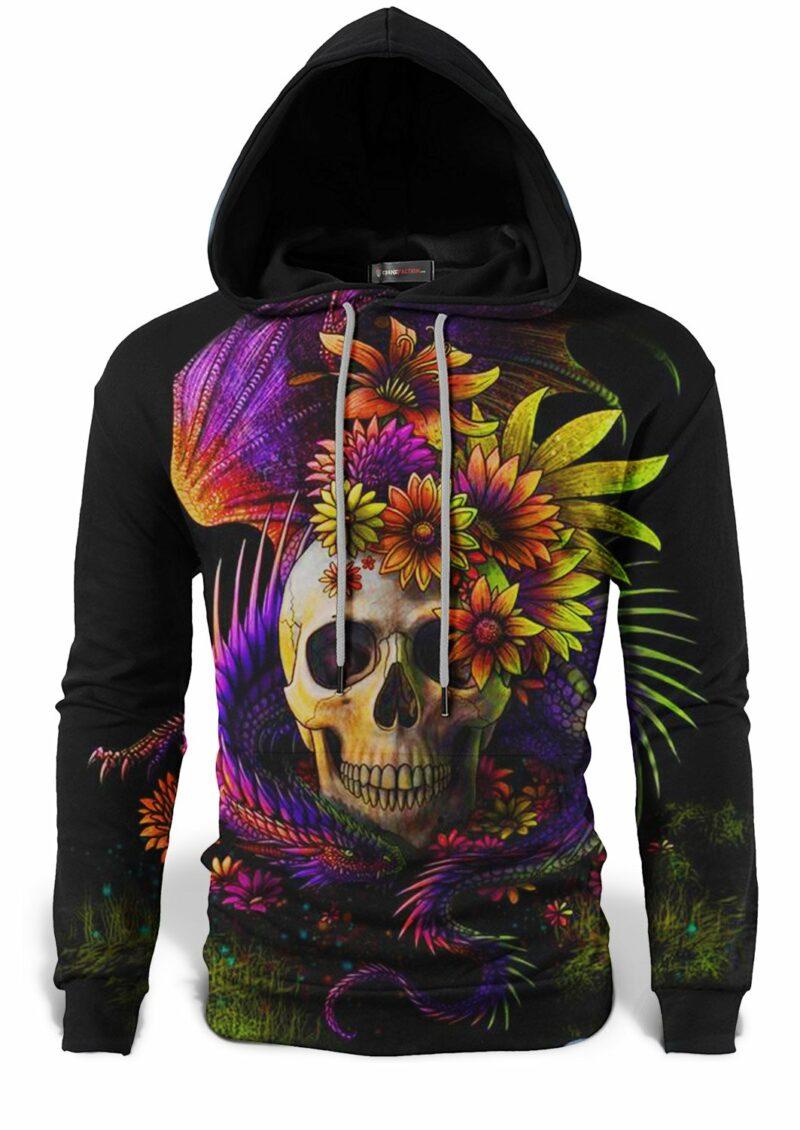 Multicolored Dragon Sweatshirt