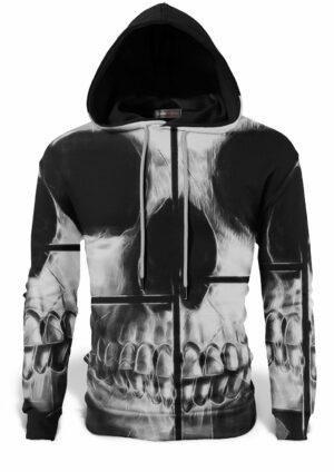 Skull Skeleton Sweat Top