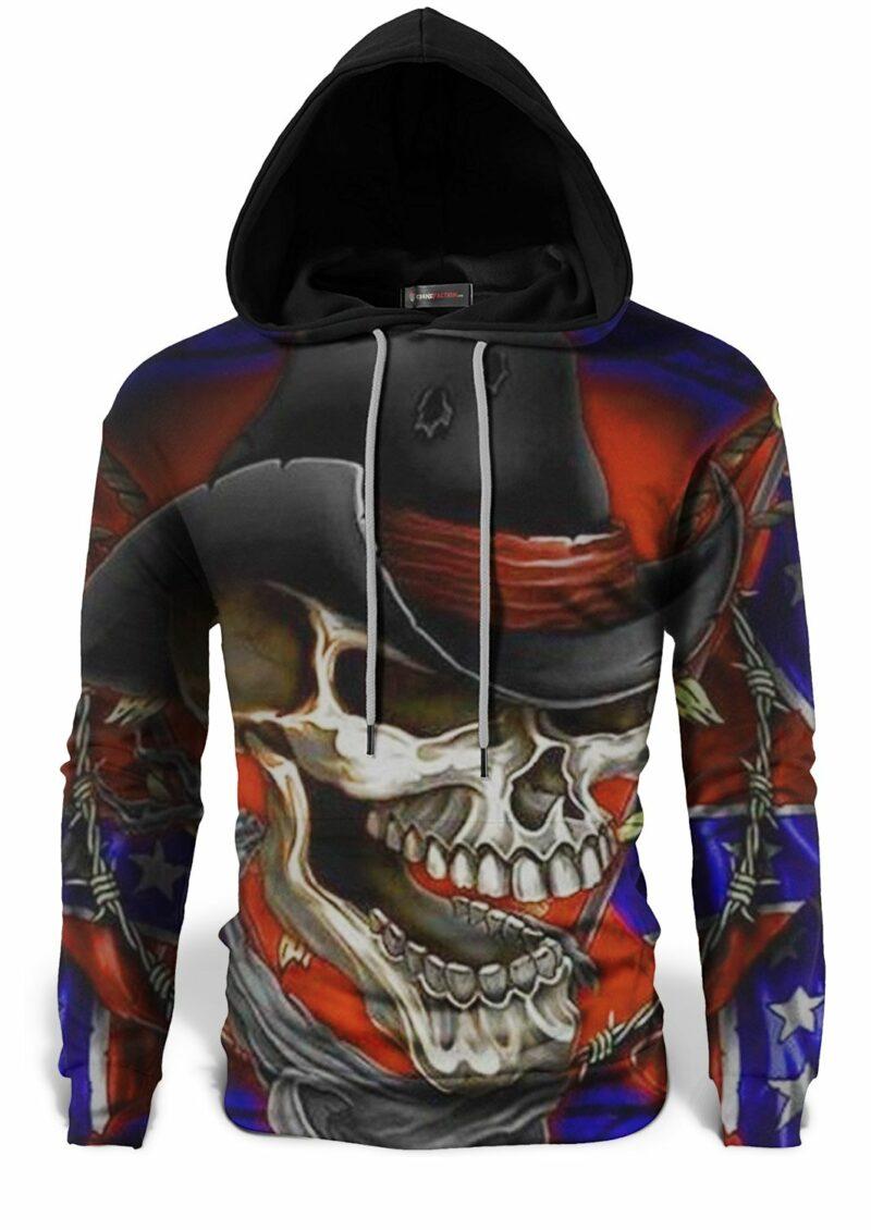 Skull and Crossbones Sweatshirt With Hat