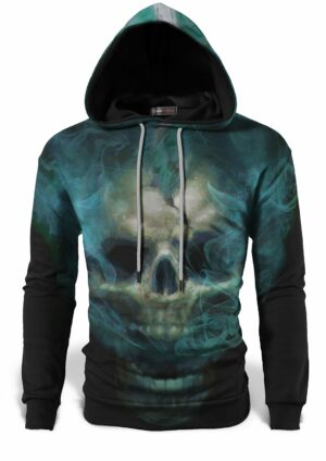 Smoky Skull Sweatshirt