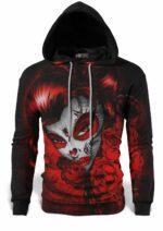 Santa Muerte Skull Sweatshirt