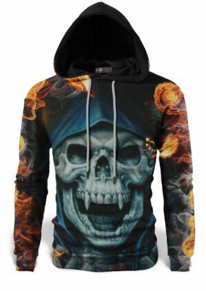 Demonic Skull Sweatshirt