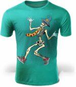 Skeleton T-Shirt Danse Macabre