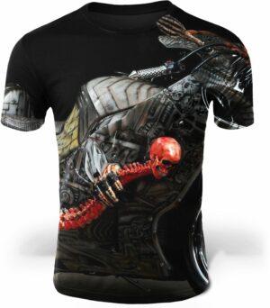 Demon Biker T-Shirt