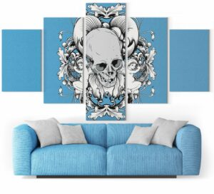 Picture Skull Painting