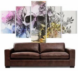 Picture Flowered Skull